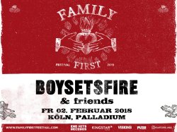 Boysetsfire: Family First Festival