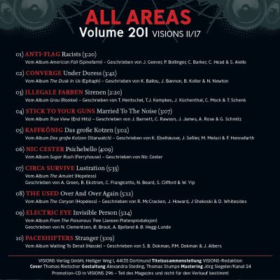 All Areas 296 - Rückseite