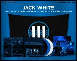 Jack White Live in Nashville / Live in Detroit - Home and Away