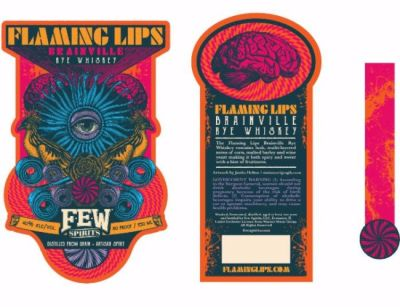 Flaming Lips Whiskey Labels