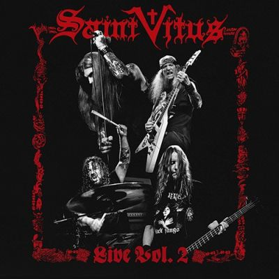 Cover Saint Vitus Live Vol 2