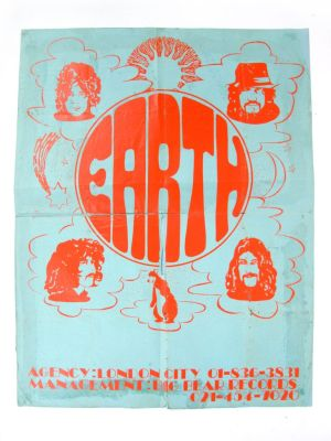 Poster Earth Black Sabbath