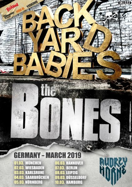 Tourposter Backyard Babies
