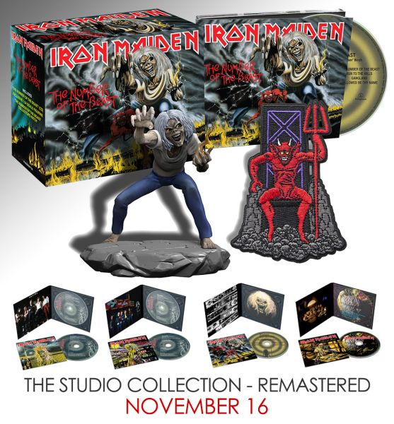 Iron Maiden CD Packshot