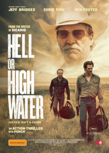 """Hell Or High Water"": 2x2 Kinotickets, Soundtrack und Filmplakat zu gewinnen"